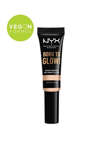 NYX Professional Makeup Kapatıcı - Born To Glow Naturally Radiant Concealer 4 Light Ivory 800897196936