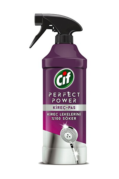 Cif Cif Perfect Power Sprey Kireç & Pas 435 Ml