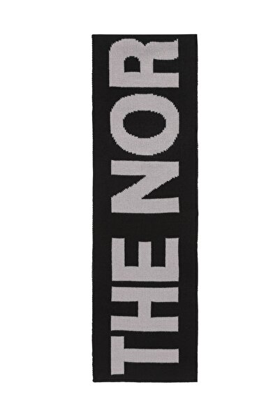 THE NORTH FACE F0A3FL6GVD1-R The North Face Logo Scarf Unisex Siyah