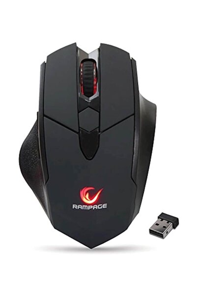 Everest Rampage SMX-R12 Hawker 4800Dpi Gaming Kablosuz Mouse Syh