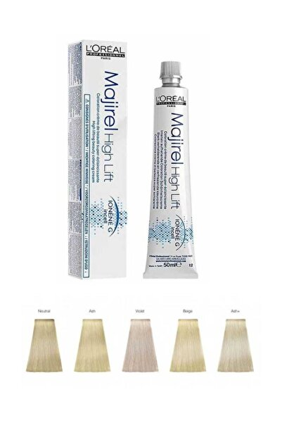 Majirel High Lift Saç Boyası Hl Ash+ 50ml