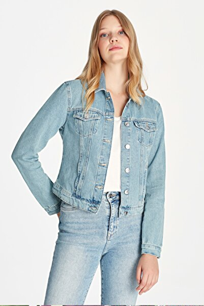 Daphne Lt Shaded Denim Ceket 1174128085