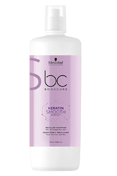 Bonacure Keratin Smooth Perfect Şampuan 1000 ml 4045787426786