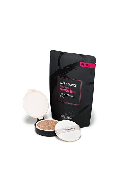 Holika Holika Face2change Photo Ready Süngerli Premıum Bb #21 Açık Bej