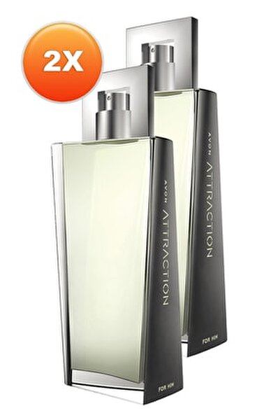 Attraction Erkek Parfüm Edt 75 ml 2'li Set 5050000104814