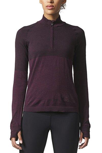 adidas Kadın Sweatshirt - Clmht Pk Zip W - BQ9348