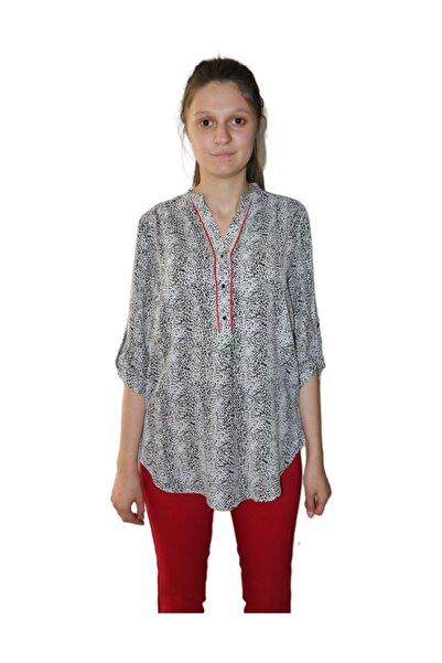 AYHAN Kadın Desenli Bluz