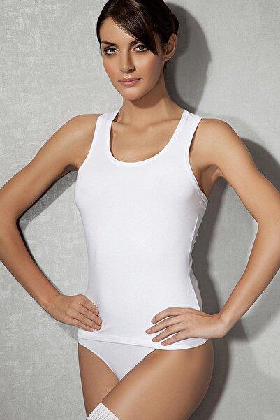 Doreanse Modal Koton Kalın Askı Kadın Atlet 9317