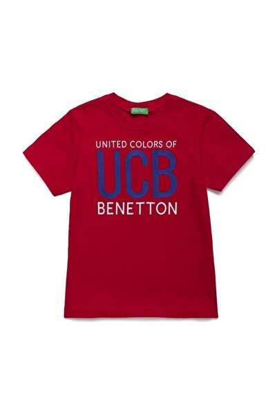 United Colors of Benetton Benetton Yazılı Tshirt