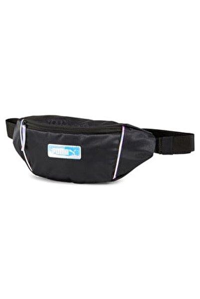 Unisex Spor Çantası - Prime Time Waistbag Puma Black  - 077266-01