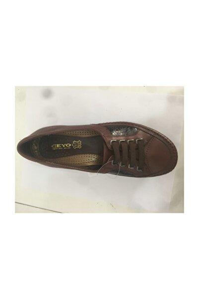Ceyo 9921-5 Kahve  Kadın Anatomik Ayakkabı