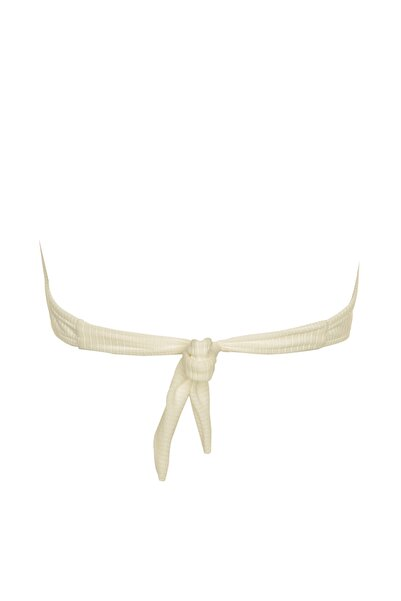 Ekru Bağlama Detaylı Bikini Üstü TBESS20BU0281