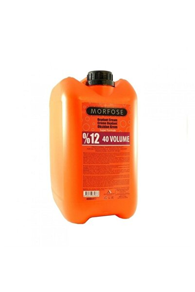 Morfose %12 40 Volume Oksidan Krem 4000 ml.