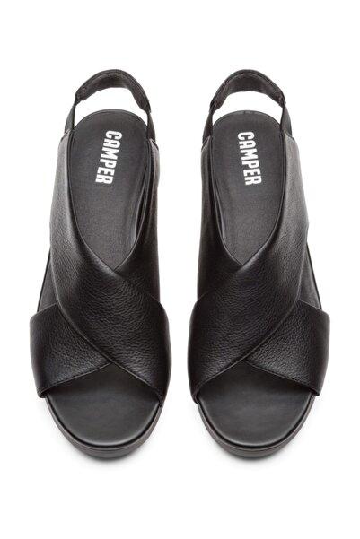 CAMPER Kadın Balloon Siyah Hakiki Deri Sandalet K200066-033