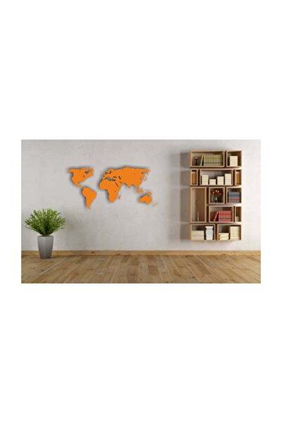 KT Decor Dünya Haritası 3d Gölgeli Duvar Sticker