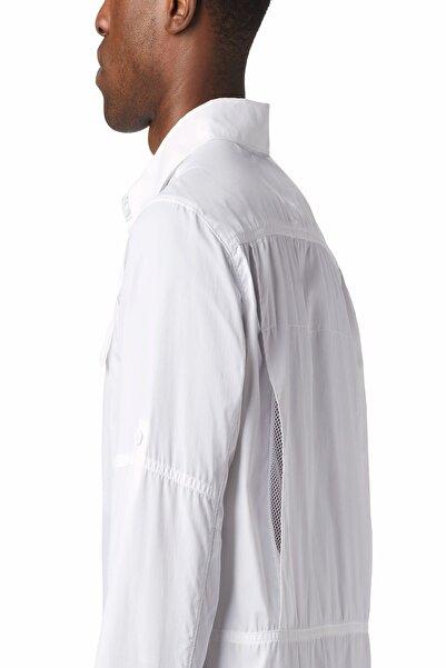 Unisex Ao0651 Silver Ridge™2.0 Long Sleeve Gömlek Beyaz