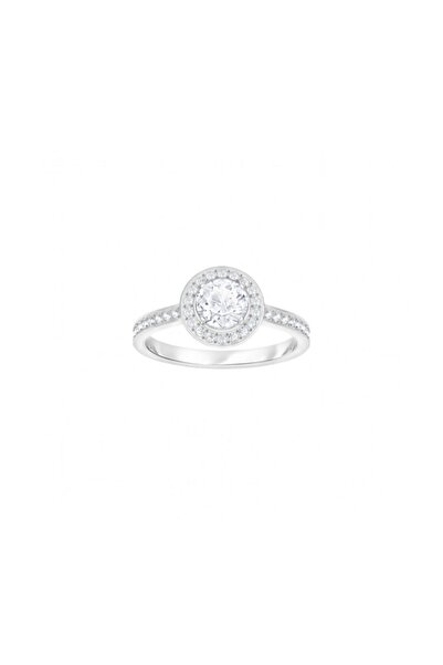 Swarovski Kadın Yüzük Attract:Ring Rnd Light Czwh/Cry/Rhs 58 5409187