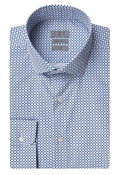 Twn Mavi Renk Erkek  Gömlek (Slim Fit)
