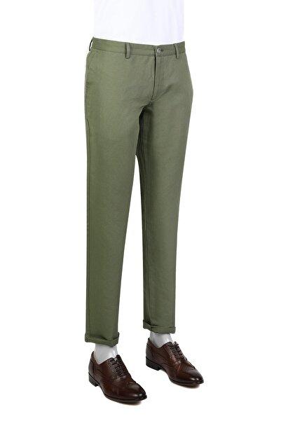 Twn Haki Renk Erkek  Pantolon (Slim Fit)