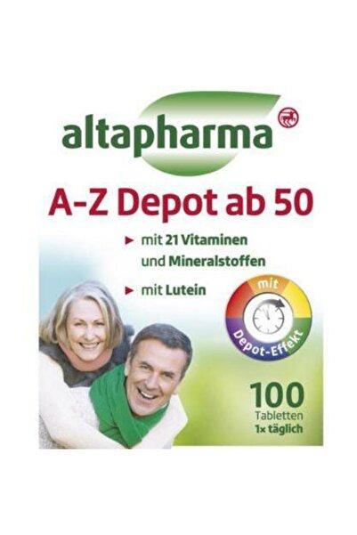Altapharma A-z Depot Ab 50 Besin Takviyesi - Glutensız 100 Tablet