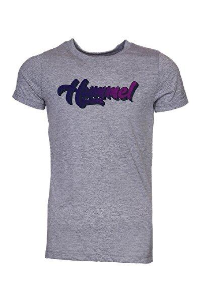HUMMEL KIDS HMLRAELYN T-SHIRT S/S Gri Kız Çocuk Kısa Kol Tişört 100581024
