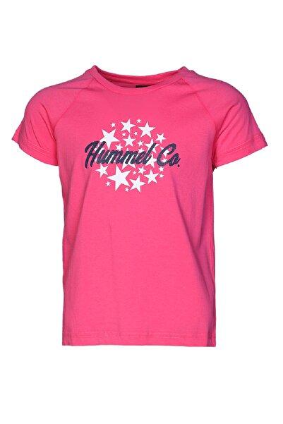 HUMMEL KIDS HMLMARILENE  T-SHIRT S/S Açık Pembe Kız Çocuk T-Shirt 100580688