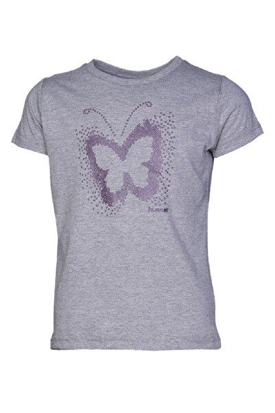 HUMMEL KIDS Gri Kız Çocuk Gabby Kısa Kollu Tişört