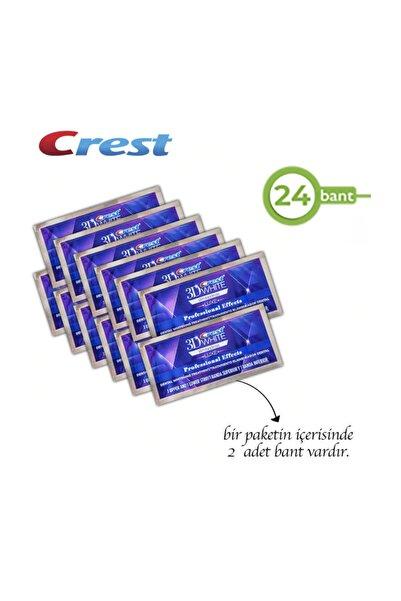 CREST 3d White Professional Effects Diş Beyazlatma Bantları (24 Bant)
