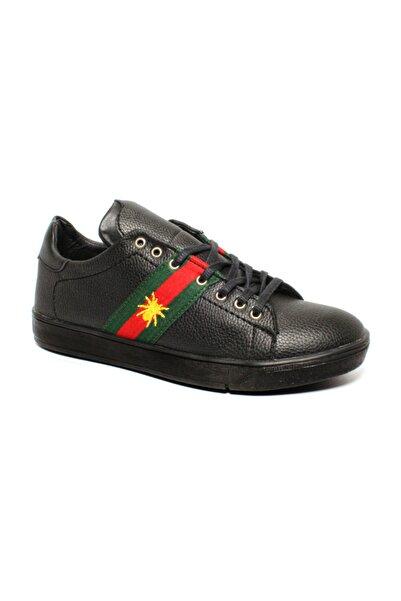 CONTEYNER Erkek Siyah Royal Casual Ayakkabı Cnty 317