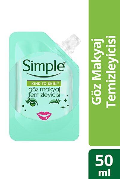 Simple Kind To Skin Mini Göz Makyaj Temizleyicisi 50 Ml