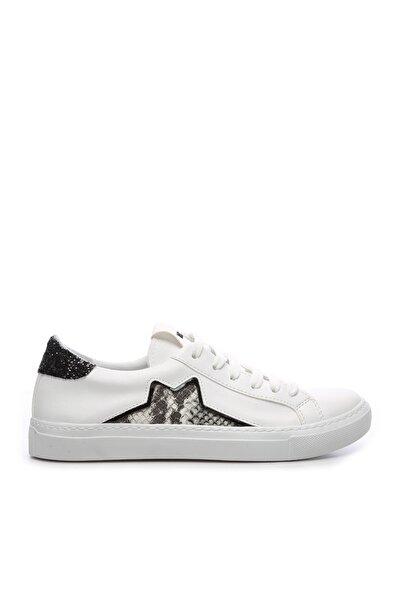 Beyaz Kadın Vegan Spor Ayakkabı 402 S8 TR BN AYK Y20