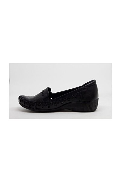 Kadın Siyah Dolgu Topuklu Ayakkabı D20ya-3260