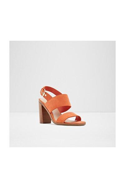 Aldo Kadın Turuncu Topuklu Sandalet