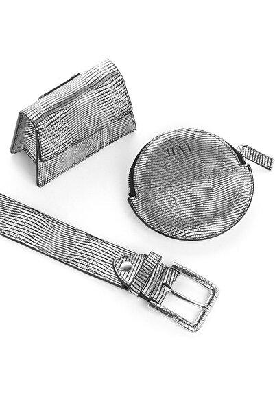 İLVİ Venezi Kadın Bel Çantası Gümüş Design Venezi-719.1346
