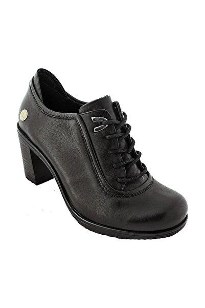 820 Hakiki Deri Topuklu Kadın Ayakkabı
