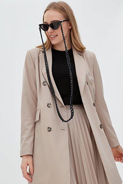 Kayra Basic Blazer Ceket Taş Sz 13501