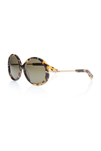 Karl Lagerfeld Kadın Yuvarlak Güneş Gözlüğü Kl 785 013
