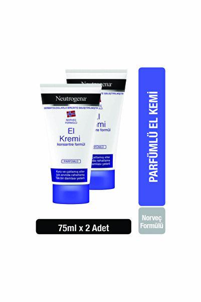 Neutrogena Norveç Formülü El Kremi Parfümlü 75 Ml X 2 Adet
