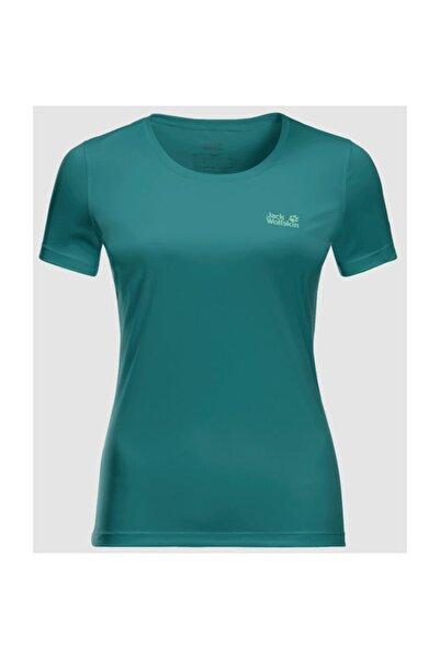 Tech Kadın Outdoor Tişört Emerald Green