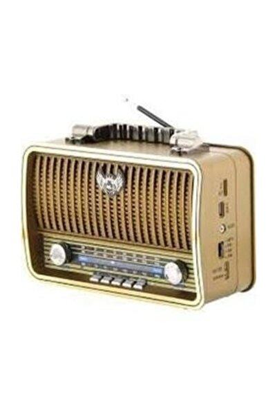 TG Taşınabilir Bluetooth Nostalji Hoparlör Yüksek Ses Extra Bass Radyo Sd Kart Aux Giriş