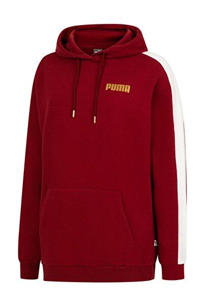 Puma Logo Kapüşonlu Bol Kesim Kadın Sweatshirt