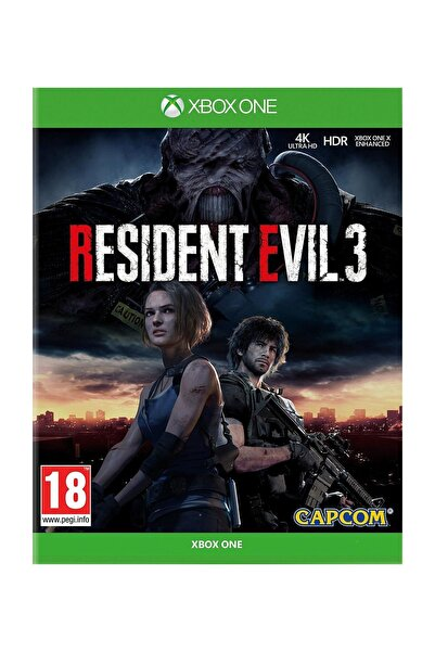 CAPCOM Resident Event 3 Xbox One Oyun