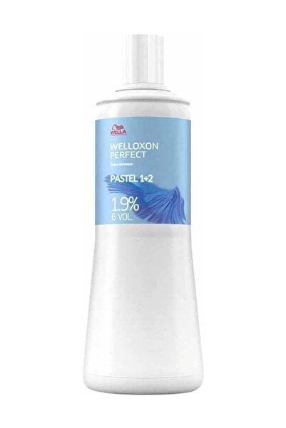Wella Welloxon Perfect Pastl 1+2 1.9% 6 Volume Oksidan 1000 ml