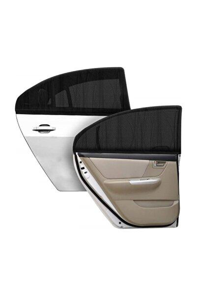Zeepmax Araba Otomobil Araç Perdesi Yan Cam Güneşlik 2li Paket Arka Kapı Perdesi
