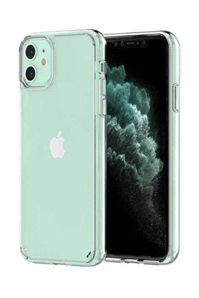Iphone 11 Darbe Emici Kamera Korumalı Antişok Şeffaf Kılıf