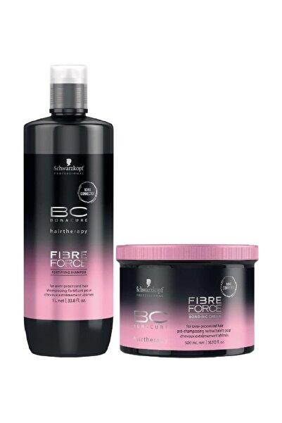 Bonacure Fibre Force Keratin Şampuan 1000ml + Krem 500ml