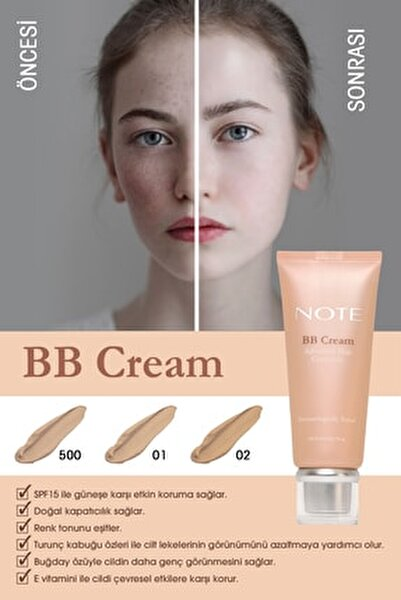 Note Cosmetics BB&CC Krem
