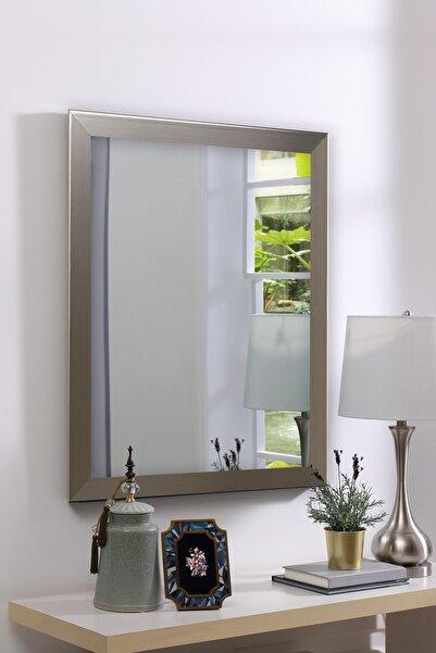 Tablo Center Gümüş Çerçeveli Ayna 40cm X 50cm