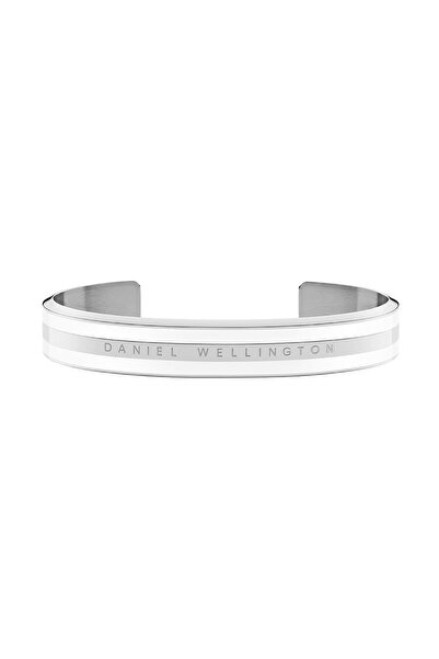 Daniel Wellington Classic Bracelet Silver Satin White Medium  - Unisex