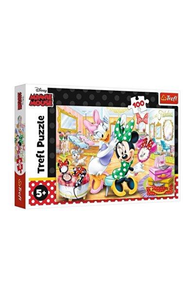 Trefl Puzzle 100 Parça Puzzle Minnie Mouse In Beauty Parious 16387